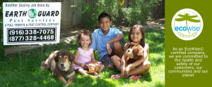 Happy Family After Receiving Pest Control Service graphic